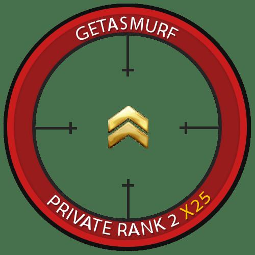 Prime Private Rank 2 Bundle of 25 [INSTANT]