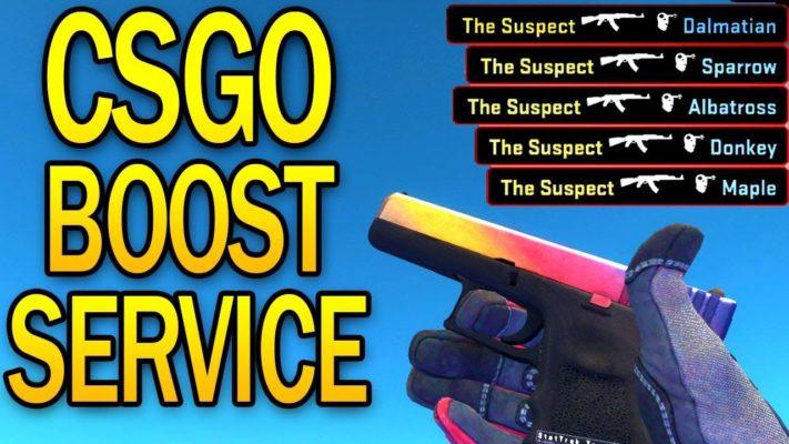 CSGO Boosting Services