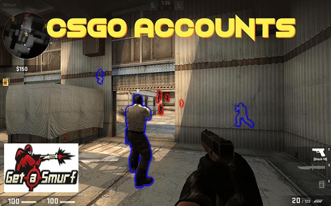 csgo smurf accounts at very low price